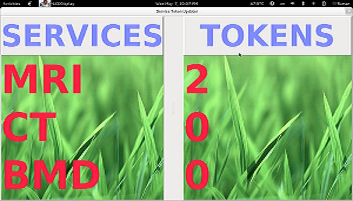 LCD Token Updater