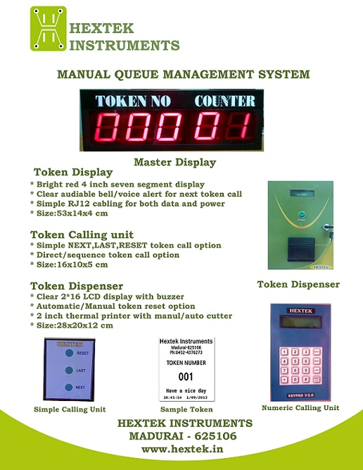Queue Management System - Manual
