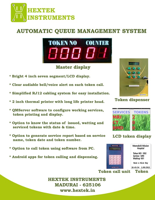 Queue Management system-Automatic